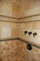 Example of Travertine Tile in Bathroom